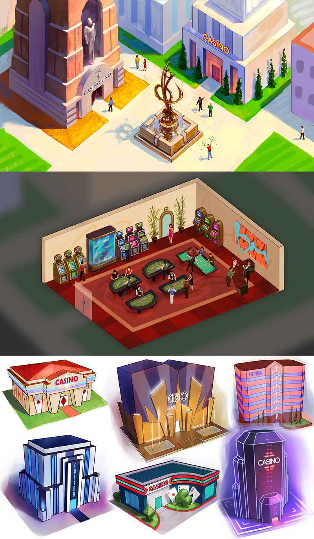 CasinoRPG Concept Art