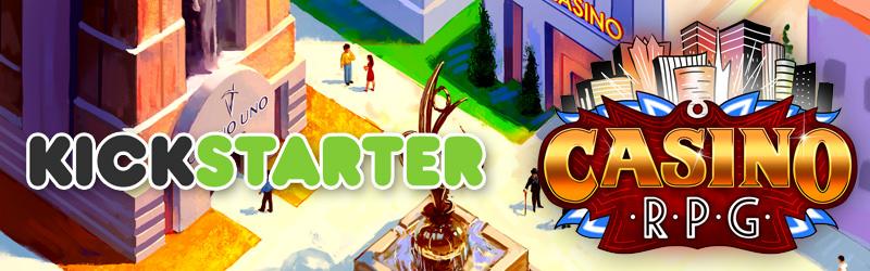 CasinoRPG on Kickstarter