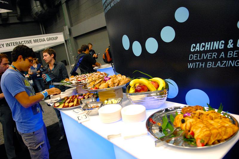 GDC Online 2011 free food