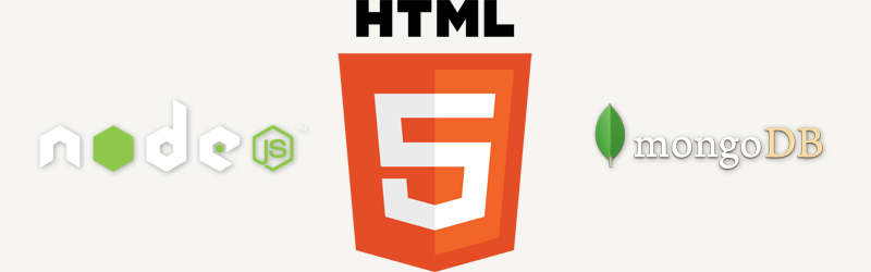 HTML5, Node.js, and MongoDB
