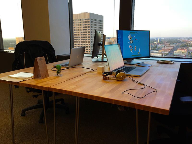 GoldFire Studios Desks