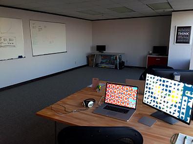 GoldFire Studios Work Space