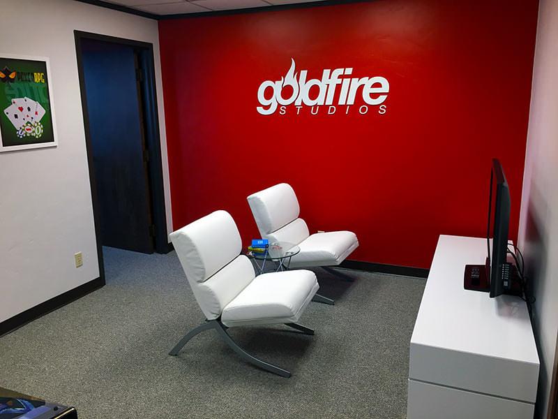 GoldFire Studios Break Room