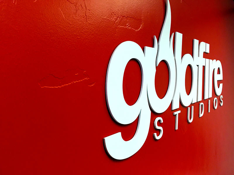 GoldFire Studios Logo Letters