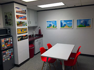 GoldFire Studios Kitchen