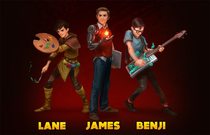 GoldFire Studios Team